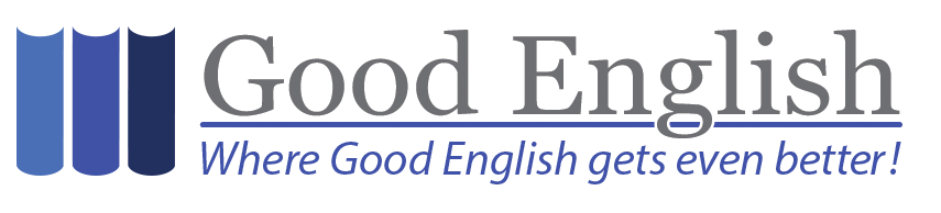 The Good English website